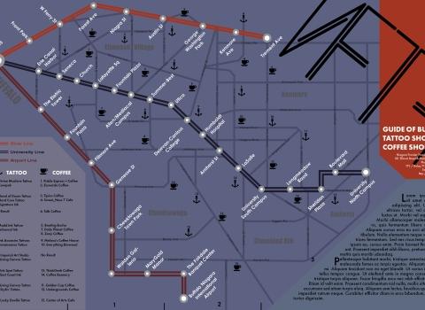 Buffalo NFTA Map